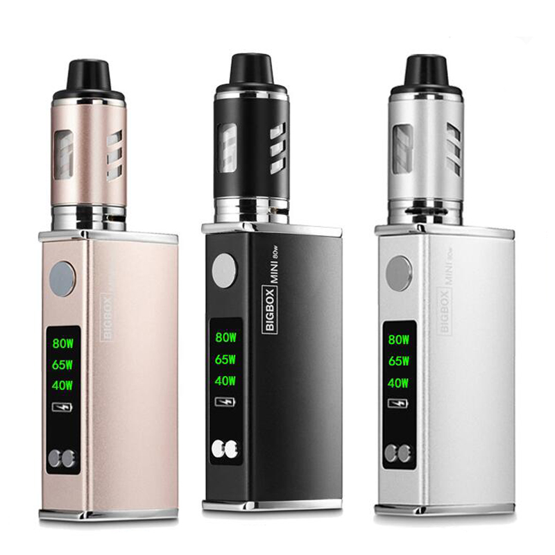 Electronic <font><b>Cigarette</b></font> 40W-80W Adjustable vape mod box kit <font><b>2200mah</b></font> 0.5ohm <font><b>battery</b></font> 2.8ml tank <font><b>e</b></font>-<font><b>cigarette</b></font> Big atomizer vapor image