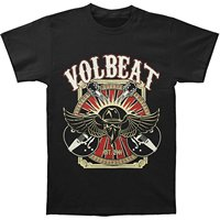 New Volbeat Seal The Deal Metal Rock Band Men S White T Shirt Size S To