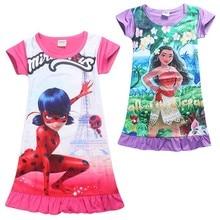Ropa de 2017 niños del verano vestido de fiesta adolescente moana carnaval disfraces niños vestidos para niñas de 10 años princesa deguisement(China (Mainland))