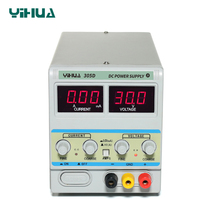 YIHUA 305D Laboratory Power Supply Adjustable 30V 5A Double LED Digital A MA Conversion Voltage Regulator Linear DC Power Supply