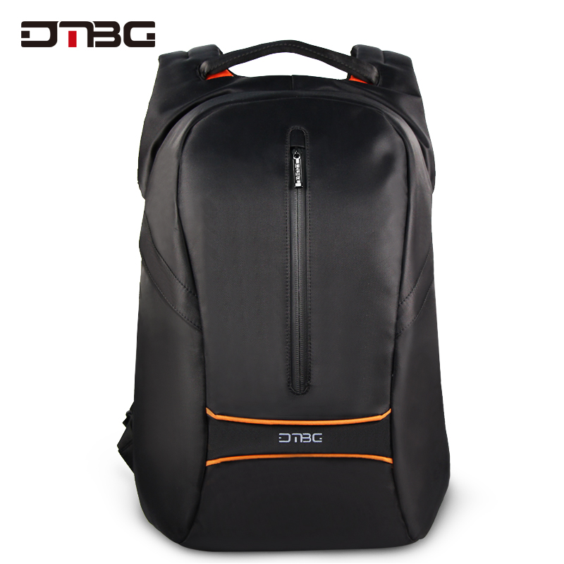 DTBG Fashion Backpacks Anti Theft Large Capacity Laptop Backpack Black Gray Solid Travel Bags School Bag Bagpack Rucksack 17.3 dtbg smart usb laptop backpack large capacity school bags for teens anti theft large capacity travel mochila sac rugzak plecak