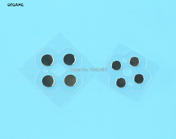 OCGAME 60sets/lot left and right Touches Butons ABXY D Pad Electro Button Circuit PCB Pads for 3DS XL LL
