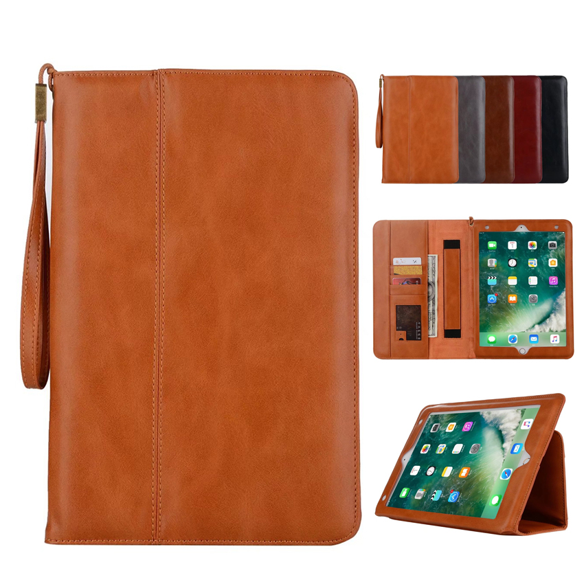 For New iPad 2017 PU Leather Wallet Case Cover Protective Stand Skin For Apple iPad air 2 9.7'' Portable Tablet PC Smart Fundas лампа светодиодная iek 422008