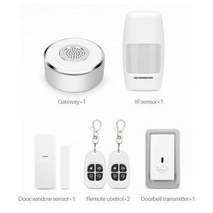 Image 5 - WiFi Smart Home Security System Kit Door Window Alarm PIR Motion Sensor APP Notification Compatible With Alexa Google Home