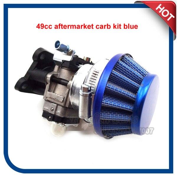 Carburetor Air Filter Vstack For 47cc 49cc Pocket Dirt Bike Mini Moto ATV Quad