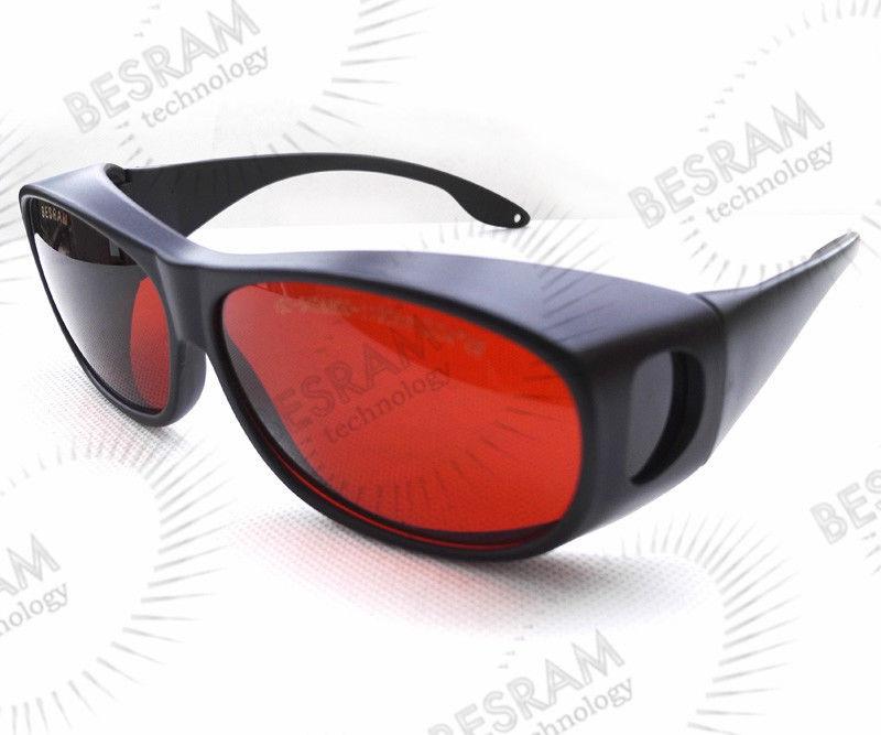 cba80f052aaa6 SK-1 190-540nm 514nm, 515nm, 520nm, UV Azul Verde Do Laser 532nm CE Óculos  De Segurança Óculos de Proteção Óculos OD4 + OD5 +
