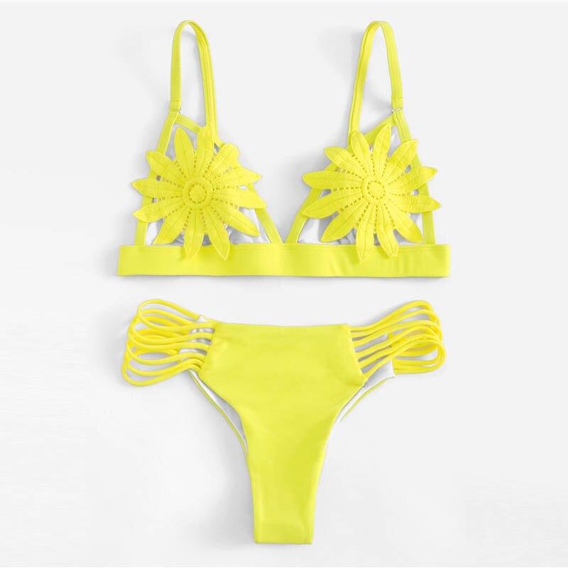 Appliques Bikini Set 8