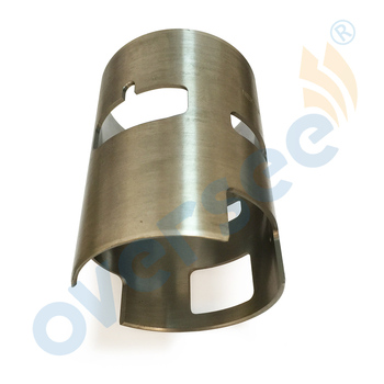 6E5-10935 ID 90mm Left Cylinder Liner Sleeve For Yamaha Outboard Motor Parts 2T 115HP Outboard V4 6E5-10935-00-L