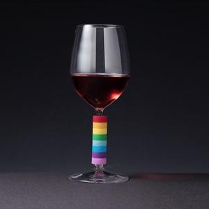 Image 3 - Lampka do wina Youpin identyfikacja pierścienia markery identyfikacyjne czerwone wino poziom kontaktu z żywnością szeroki zakres kubków