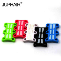 JUP 1 Pair Magnetic Shoes Buckles Glowing Light Decorative Buckles Child Adult No Tie Shoelaces Buckle