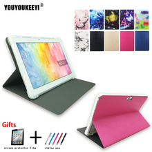 Fashion Painted Front support stand cover case For VOYO Q101 4G / i8 10.1inch tablet Anti-drop TPU case for voyo i8+gifts
