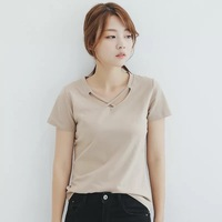 2018 fashion short sleeved casual ladies special T shirt W001