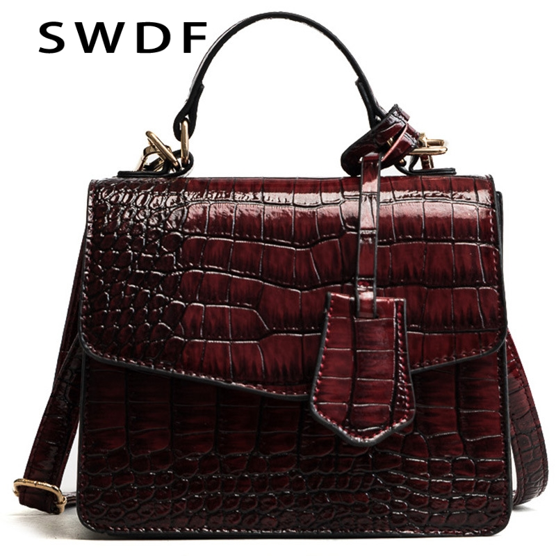 SWDF New High Quality Women Handbag Bolsa Feminina Designer Shoulder Bag Leather Bags Luxury Oil Ladies SAC A Main Clutches Bags vogue star women bag for women messenger bags bolsa feminina women s pouch brand handbag ladies high quality girl s bag yb40 422