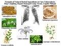 Fórmula de Ingredientes Naturales A Base de Hierbas para Curar La Tuberculosis, detener La Tos, reparación Dañado Tejido Pulmonar, licuar La Flema