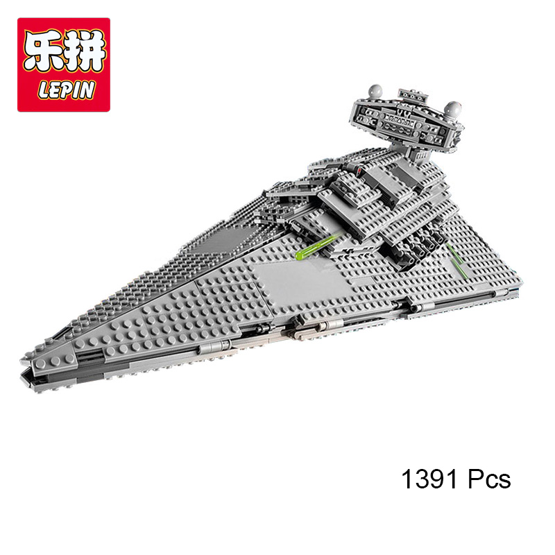 Lepin 05062 Genuine Star Series The Star Destroyer Set 75055 Building Blocks Bricks Educational Toys War 1391 Pcs rollercoasters the war of the worlds