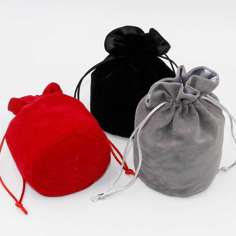 1 Uds., mazmorras y dragones, bolsas de dados de terciopelo, Tarot, bolsa de almacenamiento de tarjetas, joyería de juguete, Mini juego de tablero de embalaje con cordón