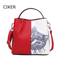 CIKER Brand new fashion cat printing women bags handbags famous designer casual tote bag big shopping bag sac a main shulder bag