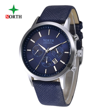 2016 Mens Wrist Watch Top Brand Watch Men Leather Fashion WristWatch Male Business Quartz Watches relogio masculino