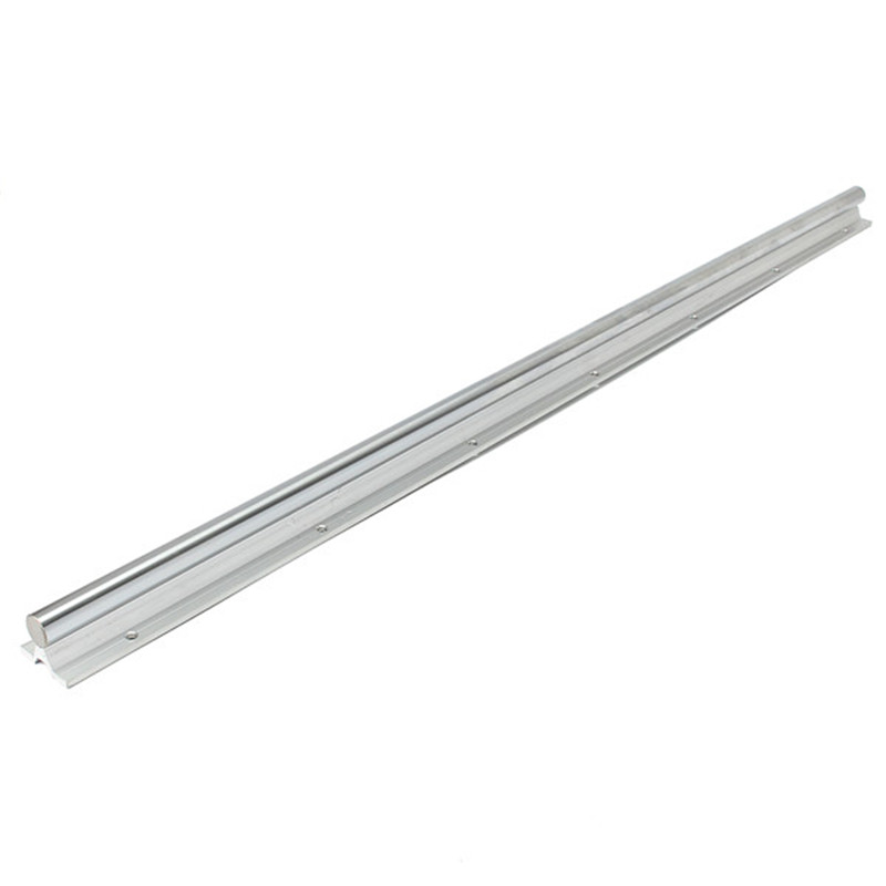 SBR20-1000mm 20mm Fully Supported Linear Rails Silver Shaft Steel Rod Slide Rods Durable Quality