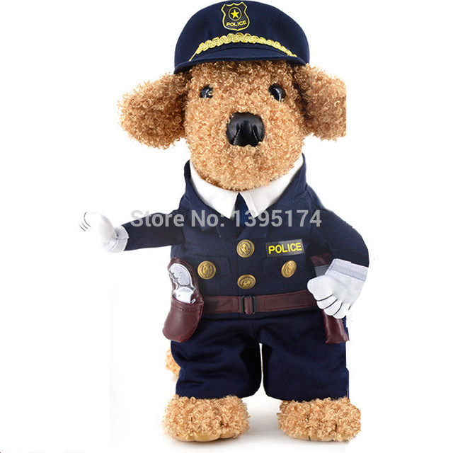 Funny Dog Clothes Pet Costume Suit Cool Dog Halloween Costume Puppy Clothes Outfit for Dog Clothing Nurse Policeman 20S2Q