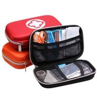 Seguridad Supervivencia al aire libre Kit de Primeros Auxilios Bolsa de Médicos Car Home Viajes Senderismo Bolsa de Rescate de Emergencia de Supervivencia Caja