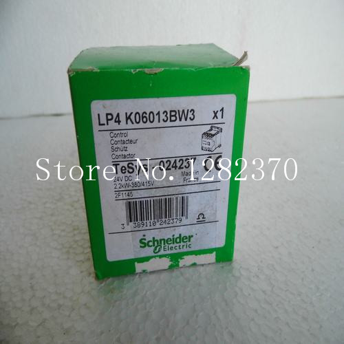 [SA] New original authentic special sales - contactor LP4K06013BW3 Spot --2pcs/lot [sa] new original authentic special sales rexroth r412010305 buffer stock 2pcs lot