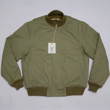 BOB DONG Retro WW2 Tanker Jacket Plain Version Winter Military Combat Uniform
