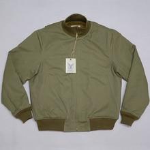 ボブ洞レトロ WW2 タンカージャケット無地バージョン冬ミリタリー戦闘服