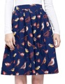 Юбки Женщин 2017 Взлетно-Посадочной Полосы Юбка Рокабилли Pinup Saia Женщины 50 s 60 s Хлопок Женщины Лето Цветочный Узор Короткие Старинные юбки