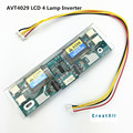 Avt4029 new PC monitor CCFL 10V-28V  lcd 4 lamp  universal lcd inverter