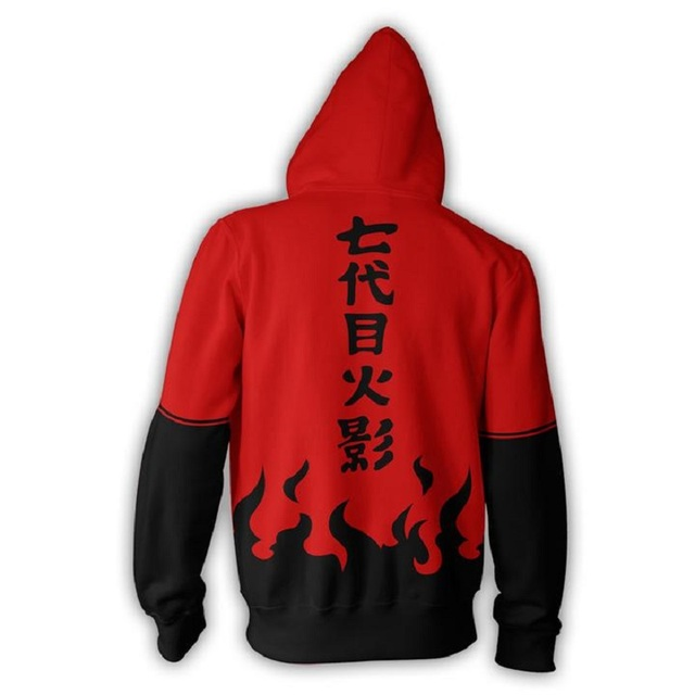 2018 new fashion Cool sweatshirt Hoodies Men women 3D print NARUTO UCHIHA CLAN Tee hot Style Streetwear Long sleeve clothing