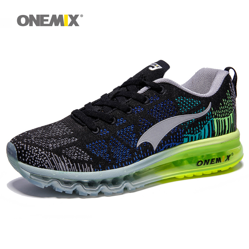 Onemix outdoor running shoes for men sport shoes light sneakers black  walking shoe men breathable athletic shoes for men jogging-in Running Shoes  from ...