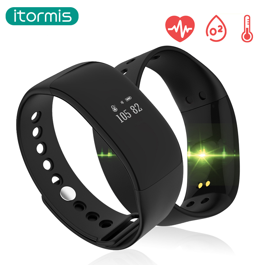 itormis Smart Band Wristband Fitness Bracelet with Fitness tracker Heart Rate Pedometer Blood Pressure PK ID115 MiBand mi band 2 new ecg smart bracelet b9 smart wristband heart rate blood pressure smart band pedometer fitness tracker pk xiaomi mi band 2