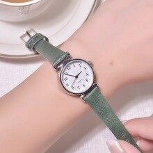 Relogio Feminino Lady Watches 2019 Fashion Women Wrist Watch Simple Brand Casual Unique Leather Quartz Women Clock Waterproof