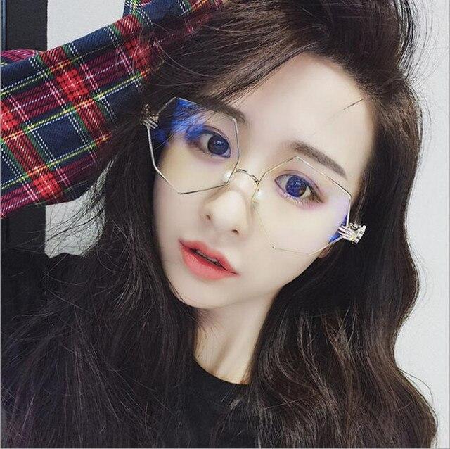 KDDOU brand women\'s designer glasses irregular pearl care nose ...