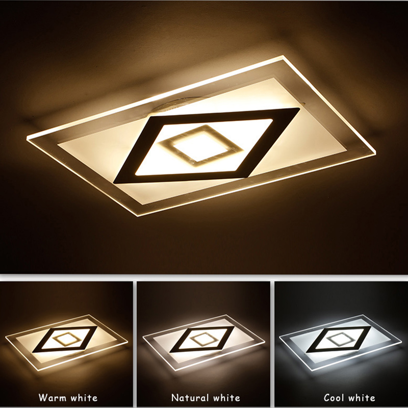 2017 Modern Led Ceiling Lights For Living Room luminarias para sala Ceiling Fixtures Bedroom lighting Decorative lampshade