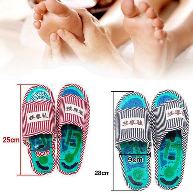 Acupuncture Foot Massage Slippers Health Shoe Shiatsu Magnetic Sandals Acupuncture Healthy Feet Care Massager Magnet ShoesAcupuncture Foot Massage Slippers Health Shoe Shiatsu Magnetic Sandals Acupuncture Healthy Feet Care Massager Magnet Shoes