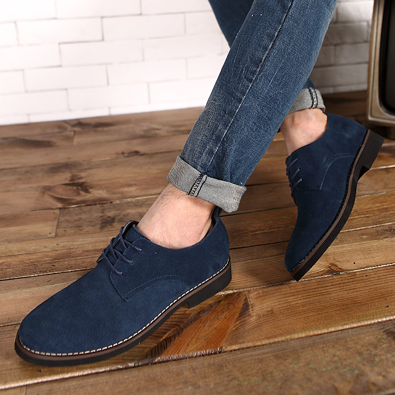 HTB1v10hd79WBuNjSspeq6yz5VXap - Suede Leather Oxford Men's Casual Shoes-Suede Leather Oxford Men's Casual Shoes