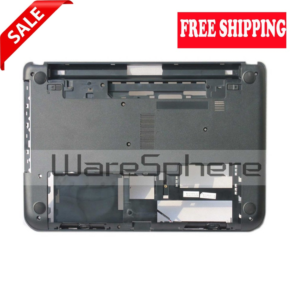 New Bottom Base Cover Bottom Case W/<font><b>Speakers</b></font> for Dell Inspiron <font><b>14</b></font> 3421 3437 XK22W 0XK22W Notebook/Laptop Black Free Shipping image