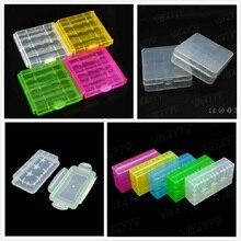 Vbatty 18650 Box for 4 x 18650 2 x 18650 AA/AAA 14500 battery storage box case Waterproof battery Battery Storage Case 2PCS