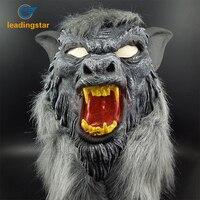 Brinquedos Engraçados Do Dia Das Bruxas LeadingStar Horror Face Pintada Máscara de Cabeça de Lobo zk35 Chapelaria Decorações do Partido Do Traje do Dia Das Bruxas
