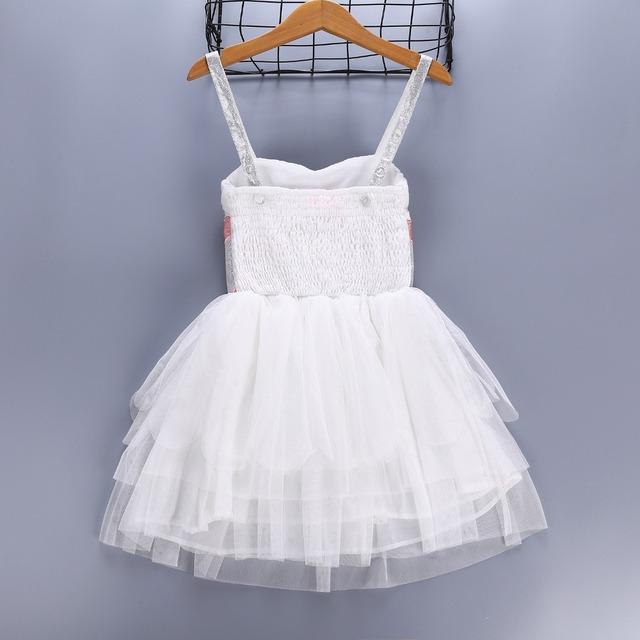 Bébé Filles Partie Robe Infantile de Fille D'anniversaire De Mariage Élégant Costume Blanc Swan Enfants Vêtements Enfants Cosplay Robes Vêtements