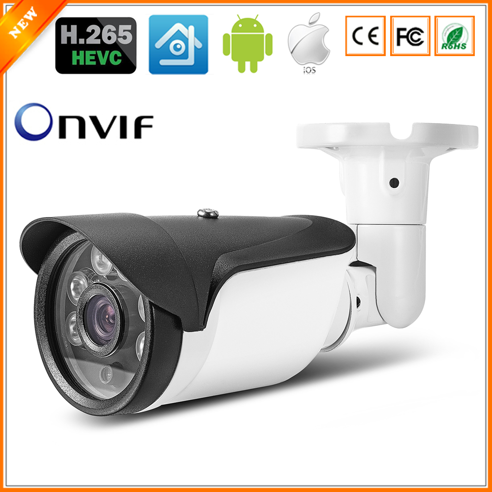 BESDER H.265 IP Camera 4MP OV4689 3MP AR0330 2MP AR0237 Sensor HI3516D DC 12V 48V PoE Optional ONVIF Bullet Outdoor CCTV Camera