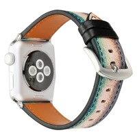 Sport casual männer und frauen ändern die apple uhrenarmband 38/42mm mit adaptern kostenloser versand-in Uhrenbänder aus Uhren bei