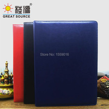 Compendium Folder A4 File Multifunction Leather Padfolio With Calculator Office Supplies