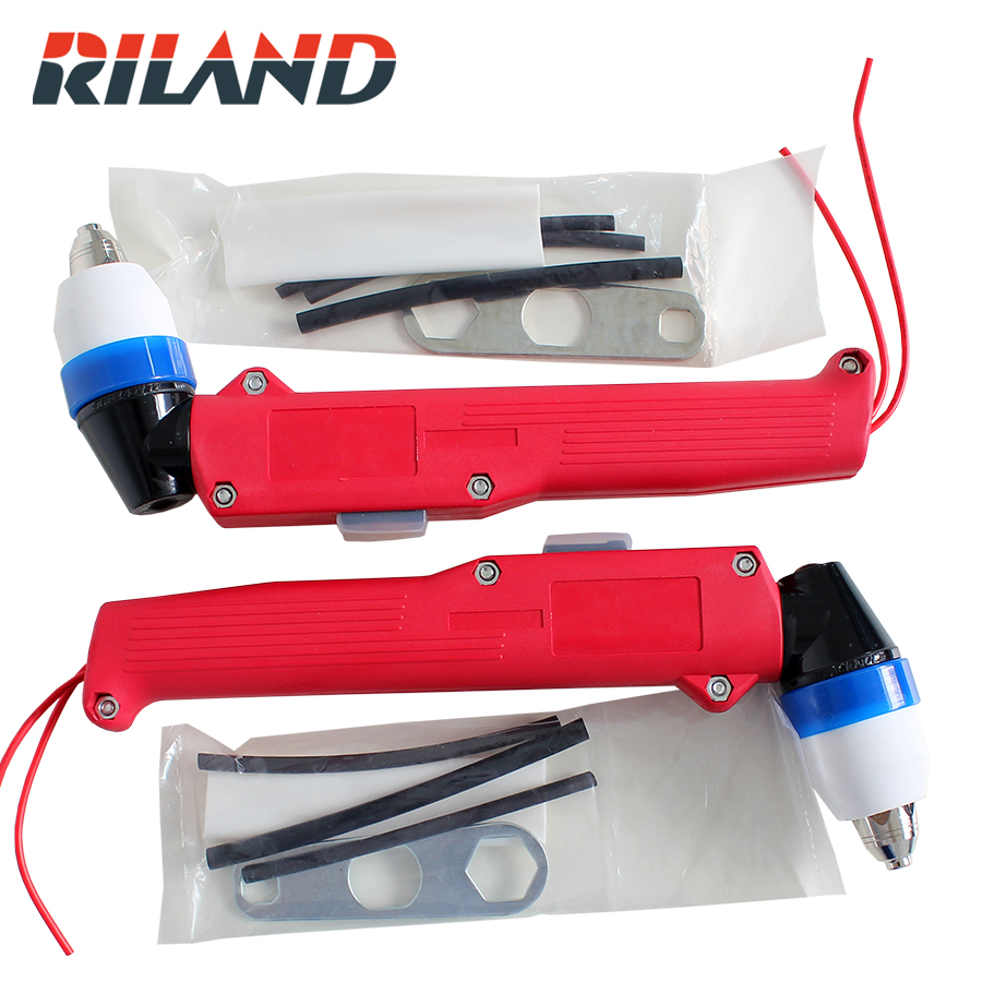 RILAND P80 Welding Cutting Torch Head Plasma Cutting Torch  Body p80 panasonic super high cost complete air cutter torches torch head body straigh machine arc starting 12foot