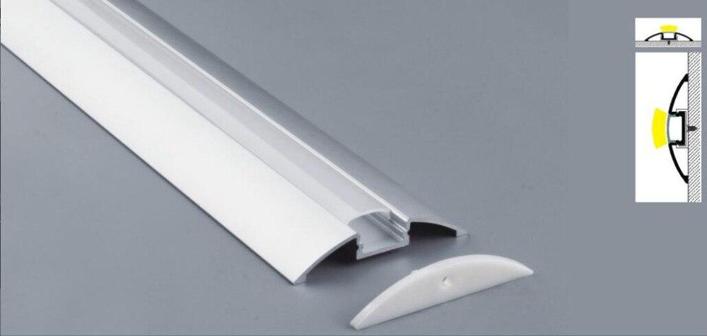 2.5 m / szt. 135M / Lot smukła linia taśmy led profil montażowy - Oświetlenie LED - Zdjęcie 2