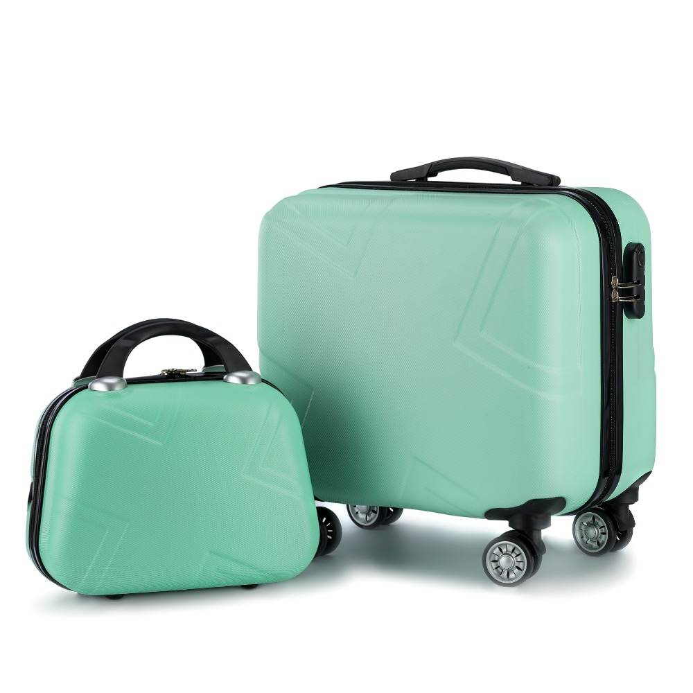 Travel Suitcase Set Rolling Luggage Set Spinner Trolley Case 18
