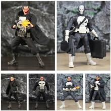 Jeden 12 Marvel Punisher frank castle 6 figurka z płaszczem wiatrówka czarny garnitur 1 12 1 12 komiks Movie Legends DC zabawki lalki tanie tanio JAXTOY Model Żołnierz gotowy produkt Wyroby gotowe Unisex Zachodnia animiation Remastered version Zapas rzeczy Film i telewizja