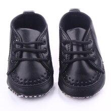 Новое поступление 2 цветов кружева-6 на мягкой кожи Prewalker детская обувь 0 — 12 м
